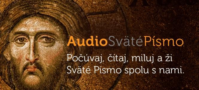 Spúšťame pilotnú prevádzku www.audiosvatepismo.sk